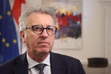 Pierre GRAMEGNA, Luxembourg Minister of finance.